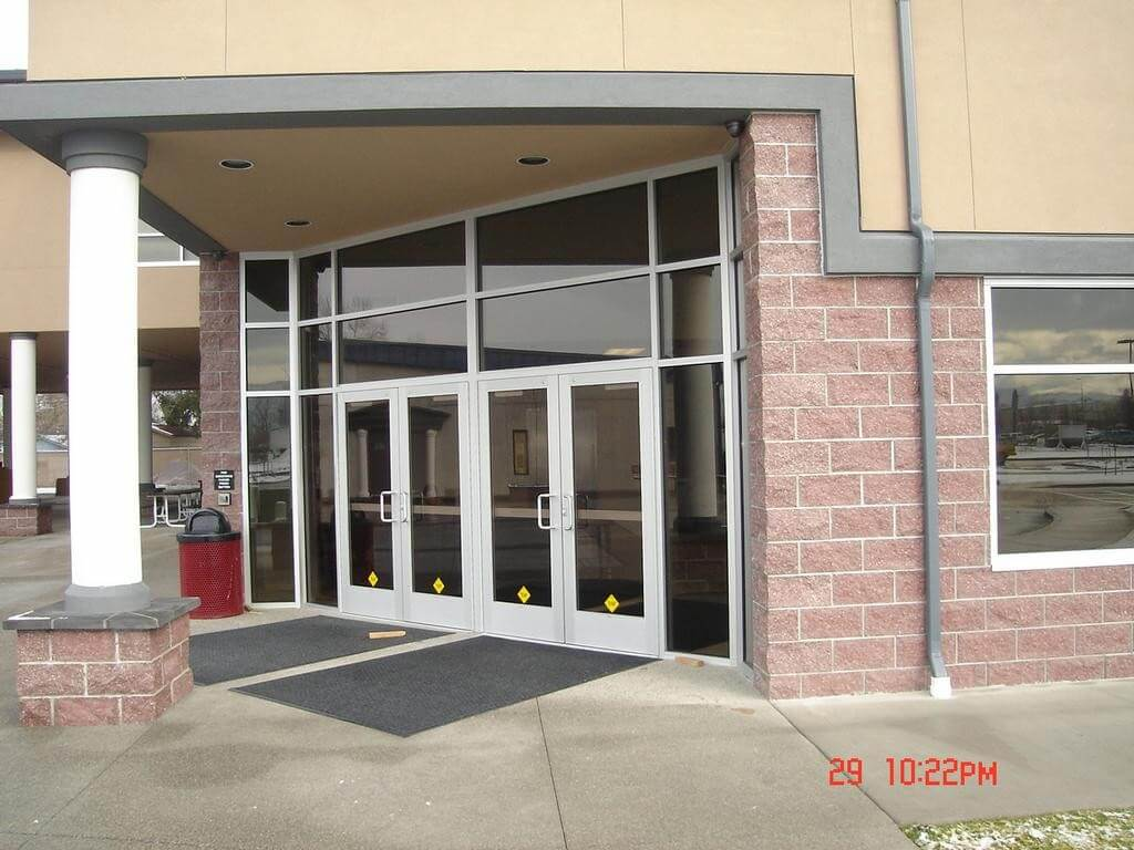 Commercial Storefront Glass Doors : Commercial storefronts security gates in owen sound on